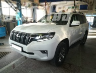 ГБО на Toyota Land Cruiser Prado150  -