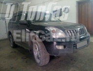ГБО на Toyota Land Cruiser Prado 120 - Общий вид